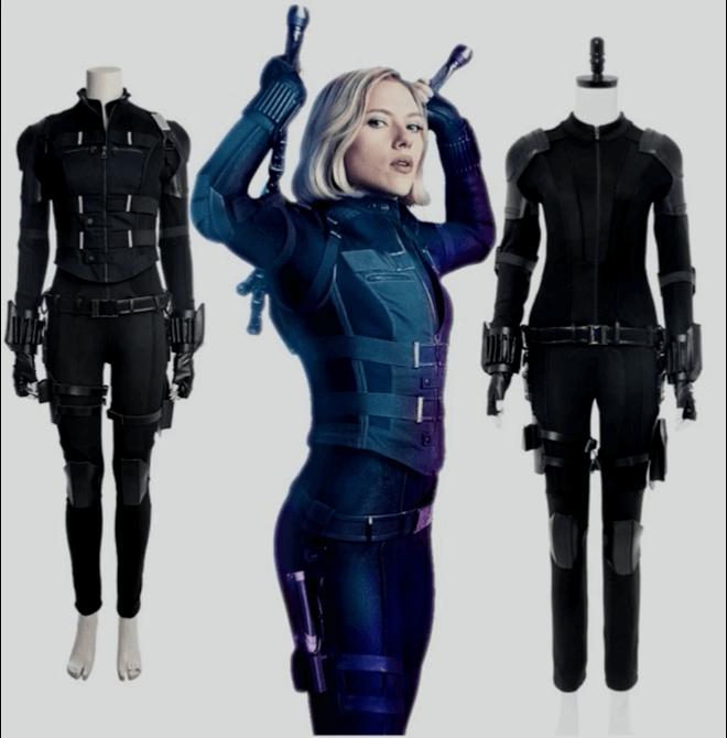 Black Widow Natasha Cosplay Costumes