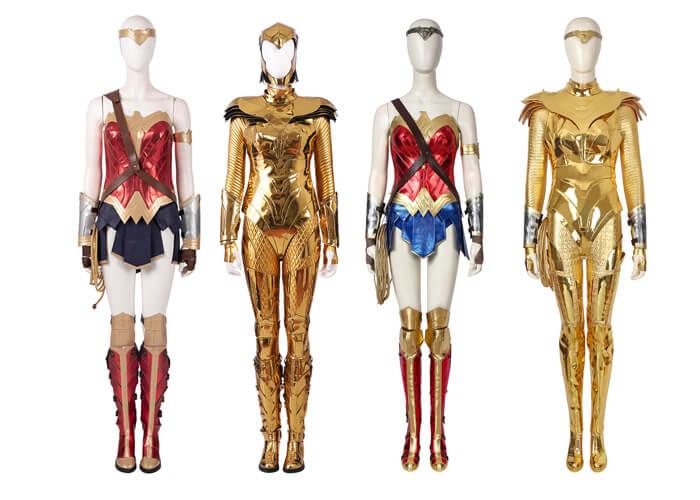 Wonder Woman 1984 Cosplay Costume